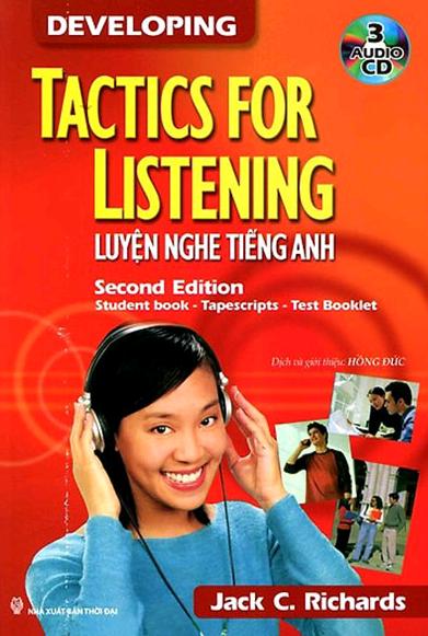 Sách Tactics For Listening