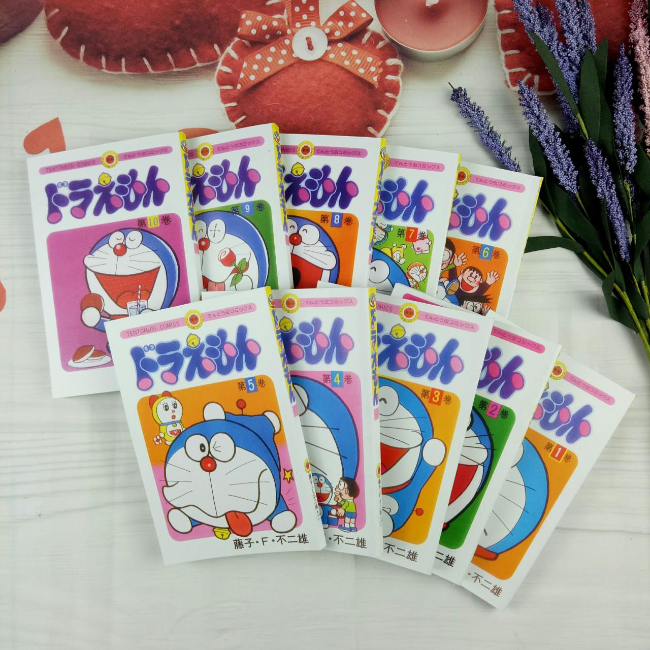 Truyện tranh tiếng Nhật Doraemon – Trọn bộ 10 tập - truyện ngắn ..