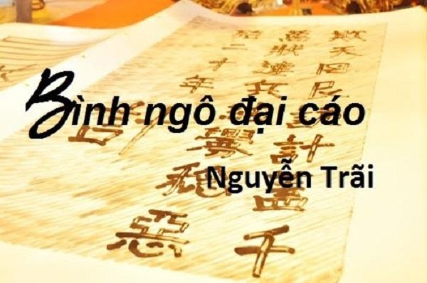 """Top 10 Bài văn phân tích tác phẩm """"Đại cáo bình Ngô"""" của Nguyễn Trãi hay  nhất - Toplist.vn"""