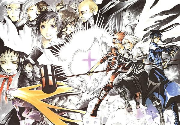 D.Gray Man Anime phiêu lưu hay nhất